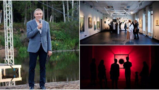 Fotoreportāža: Atklāts Cēsu mākslas festivāls