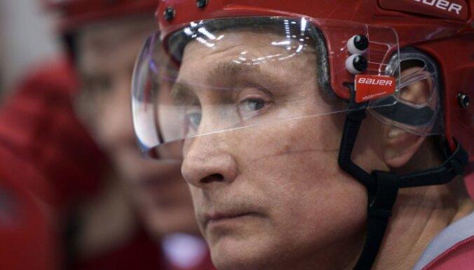 ВИДЕО: суперрезультативный Путин— 6 шайб в ворота команды НХЛ