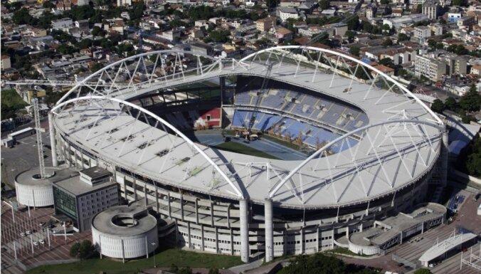 Rio olimpiskajam stadionam nenomaksātu rēķinu dēļ atslēdz elektrību un ūdeni