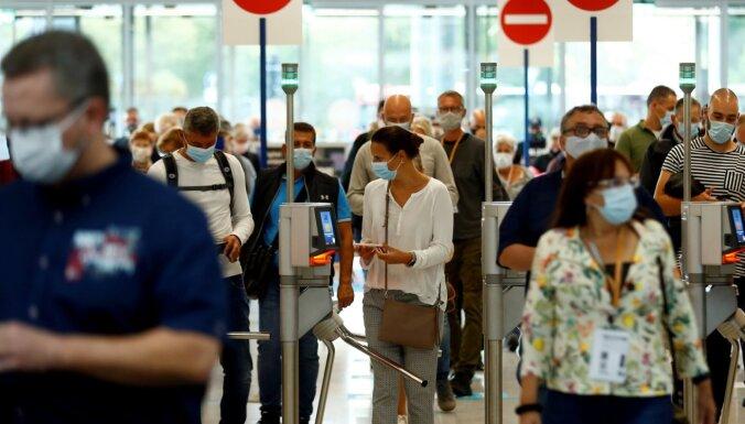 Diseldorfā plāno demonstrāciju pret pandēmijas dēļ noteiktajiem ierobežojumiem