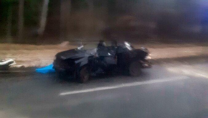 Ceļu satiksmes negadījums uz Bauskas šosejas: satiksme atjaunota