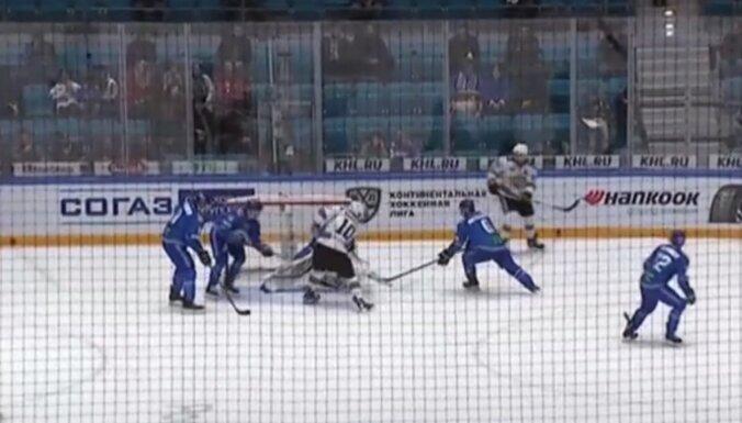 Video: Rīgas 'Dinamo' atdzīvojas - trešā uzvara četrās spēlēs