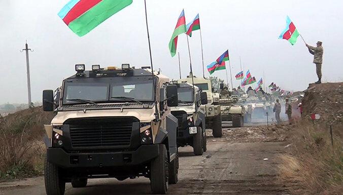 Azerbaidžāņi pārņem otru Armēnijas atpakaļ atdoto rajonu