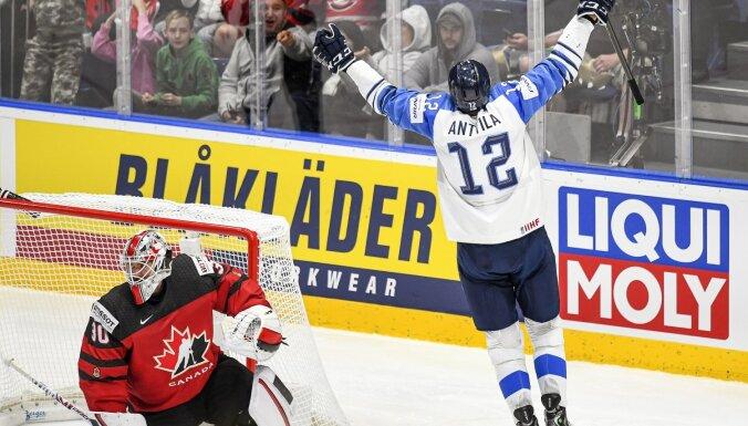 Сборная Финляндии обыграла Канаду и впервые за 8 лет выиграла чемпионат мира