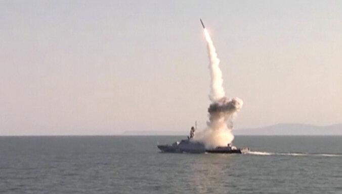 Krievija izmēģinājusi raķeti, ar kuru varētu tikt pārkāpti INFT ierobežojumi