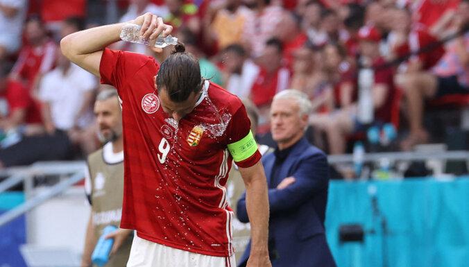 Капитан венгров во время матча получил тепловой удар на 30-градусной жаре