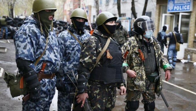В Славянске – антитеррористическая операция: убит офицер СБУ, есть раненые