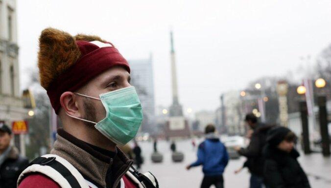 Ежегодно гриппом болеют около 10% латвийцев