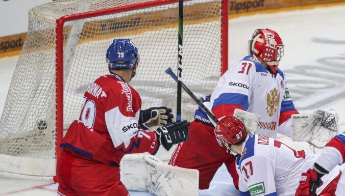 Без шансов: Чехия разбила Россию перед чемпионатом мира в Риге