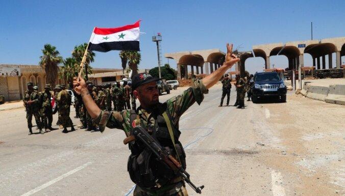 Uzbrucējs Jordānijā sadūris astoņus cilvēkus
