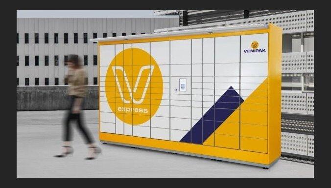 Sūtījumu piegādātājs 'Venipak' Latvijā veido pakomātu tīklu