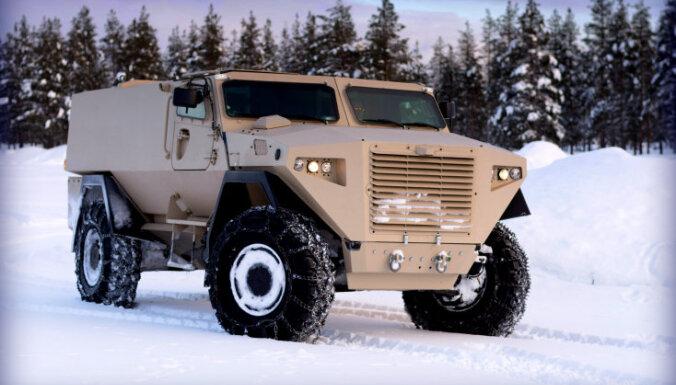 Kas zināms par Latvijas armijai simpatizējušo somu bruņuauto 'Sisu GTP 4x4'