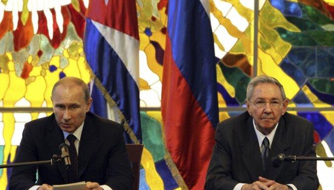 Krievija no jauna grib atvērt izlūkošanas bāzi Kubā
