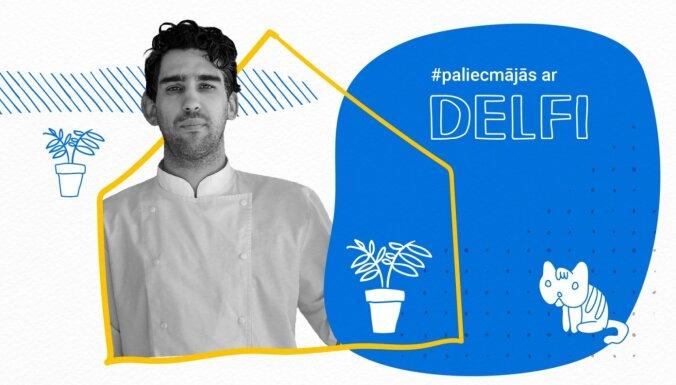 Mārtiņš Sirmais par katlu revolūciju un ideālo šašliku raidījumā '#PaliecMājās ar Delfi'. Ieraksts