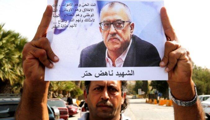 Jordānijā par džihādistus izsmejošas karikatūras publicēšanu 'Facebook' nošauts rakstnieks