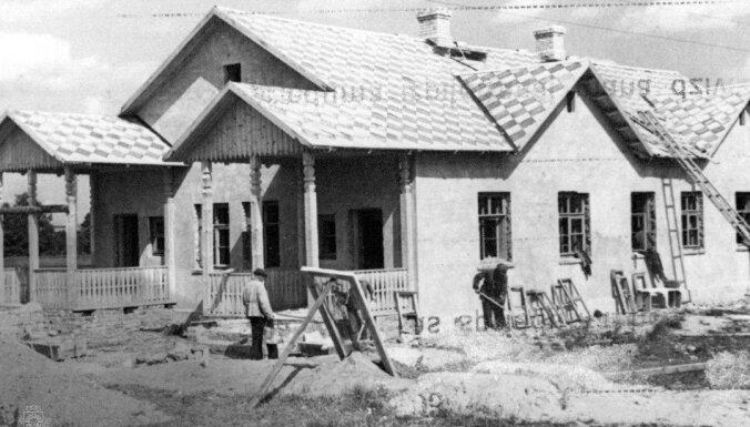 Архивные ФОТО: Как в Латвии 1930-70-х годов строили дома и соблюдали традиции