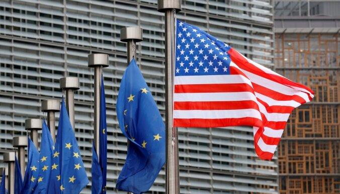 PTO atļāvusi ASV noteikt tarifus ES ražojumiem 7,5 miljardu dolāru vērtībā