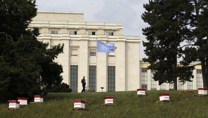 Ievēlētas piecas jaunas ANO Drošības padomes dalībvalstis