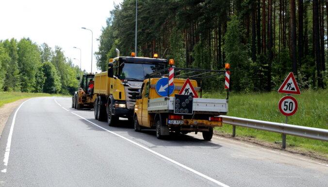 На 1000 км региональных автодорог будут установлены светоотражающие сигнальные столбики