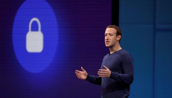 Zakerbergs: sociālajiem medijiem nav jākļūst par 'patiesības arbitriem'