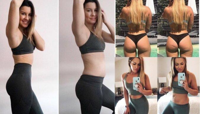 ФОТО. Идеальное тело на снимках в соцсетях — иллюзия обмана