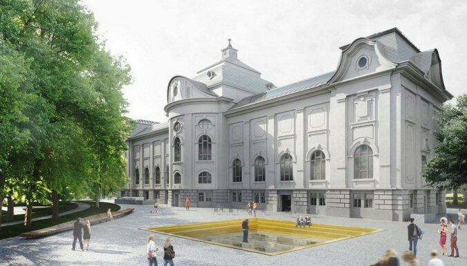 Vizualizācija: Kā mākslas muzejs izskatīsies pēc rekonstrukcijas
