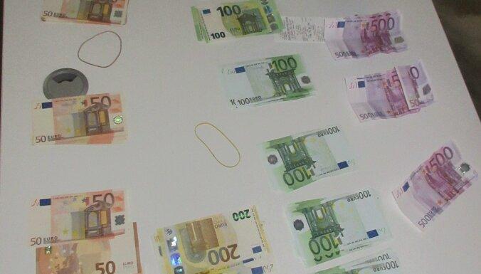 Таможня изъяла незадекларированные 25 тысяч евро на границе с Белоруссией