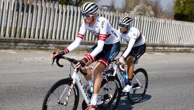 Neilands izcīna piekto vietu 'Vuelta Asturias' velobrauciena pirmājā posmā