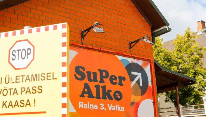 Опасаясь самоизоляции, эстонцы устремились в латвийские магазины алкоголя