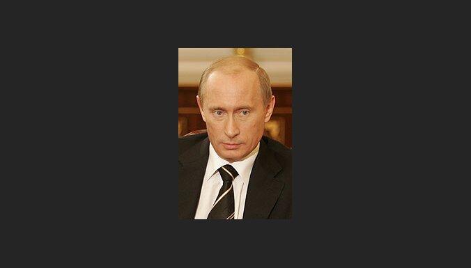 Žurnāls 'Time' par gada cilvēku nosauc Putinu