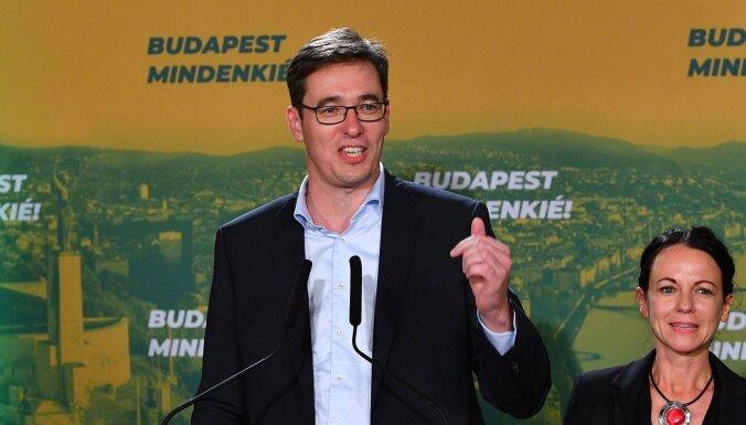 Par Budapeštas mēru ievēlēts opozīcijas pārstāvis