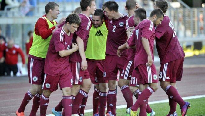 Latvija - Lihtensteina EC-2015 U-21