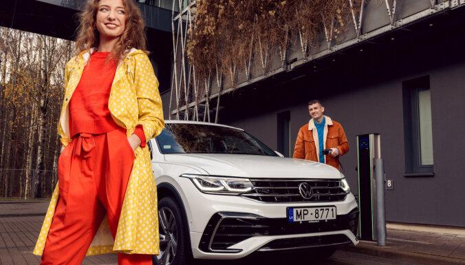 'VW Tiguan' tagad pieejams arī kā uzlādējamais hibrīds