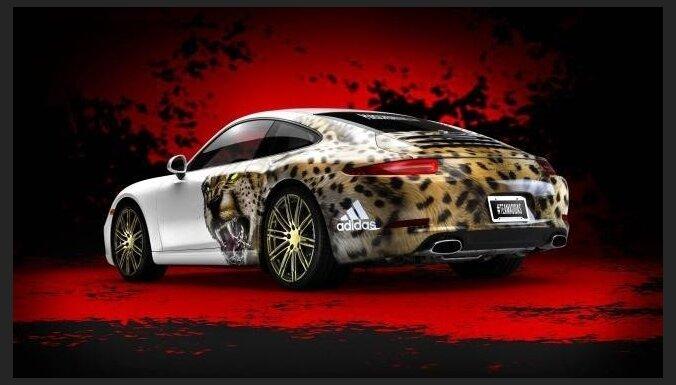 Sadarbībā ar 'Adidas' radīts 'Porsche 911' futbolistiem
