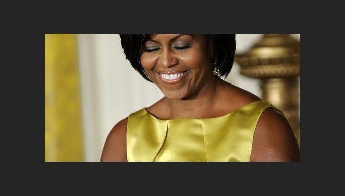 Mišela Obama mājās apciemo bijušo DĀR prezidentu Nelsonu Mandelu