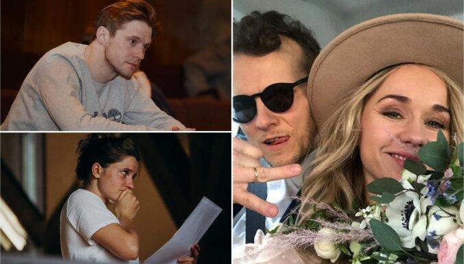 Nedēļas trakumi: Daili pamet divi aktieri; apprecējusies Aija Andrejeva