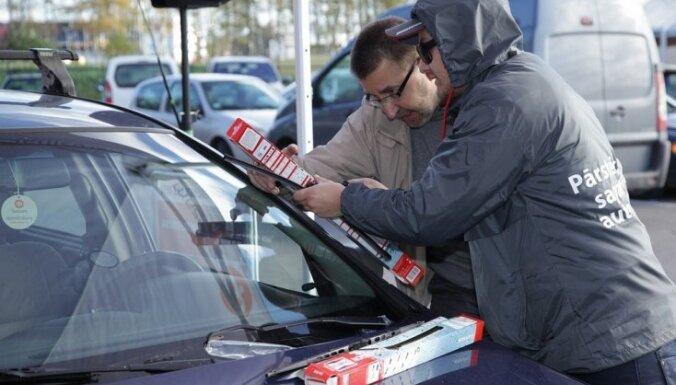 Kampaņā 'Pārsteidz ziemu!' pārbaudīts vairāk nekā 700 automašīnu