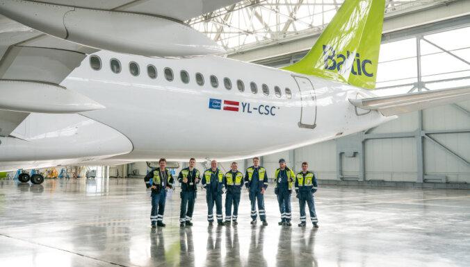 Изменится раскраска самолетов компании airBaltic
