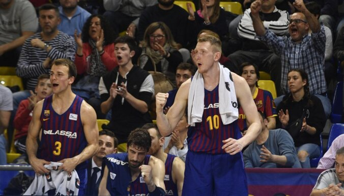 Šmitam seši punkti 'Barcelona' uzvarā; Žagaram septiņi zaudējumā 'Real'