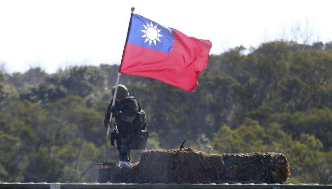 Ķīna brīdina Taivānu: mēģinājumi iegūt neatkarību nozīmē karu