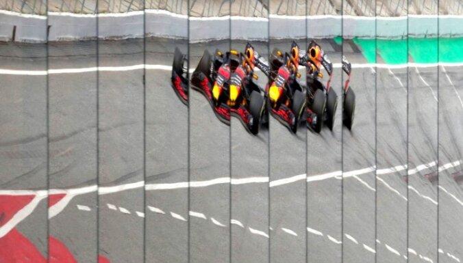 'Red Bull', 'Toro Rosso' un Alonso Krievijas 'Grand Prix' startēs no peletona beigām
