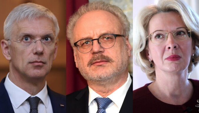 'Šajā dienā atzīmējam novadu kopību' – augstākās valsts amatpersonas sveic Latgales kongresa dienā