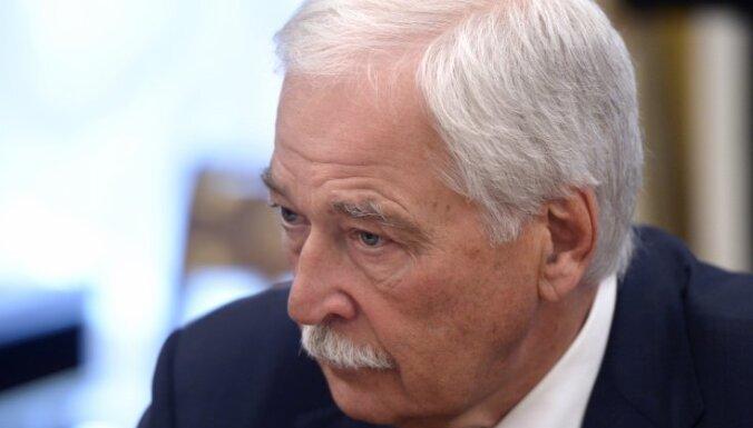 Представителем России в контактной группе по Украине назначен Грызлов