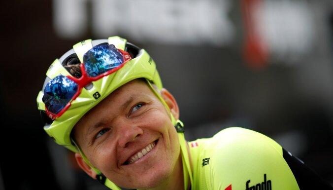 Skujiņš iekļauts komandas sastāvā 'Tour de France' treniņnometnei