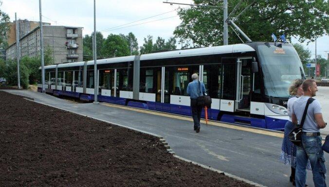 Tramvaju infrastruktūras attīstībai pieejami 96 miljoni eiro