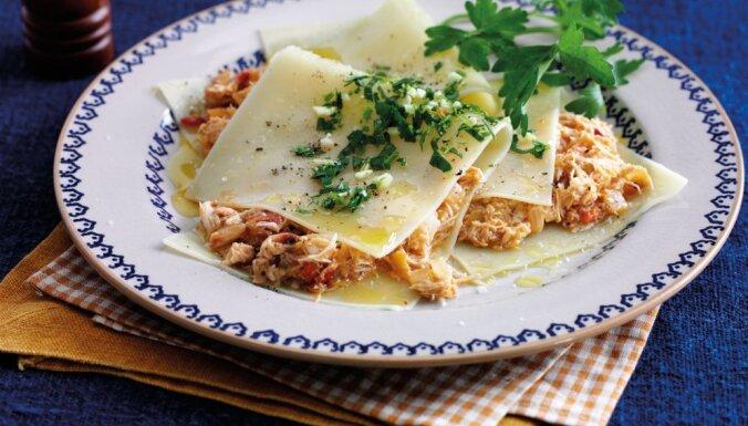 Mājīgie makaroni: Astoņas 20 minūšu receptes ātrām vakariņām