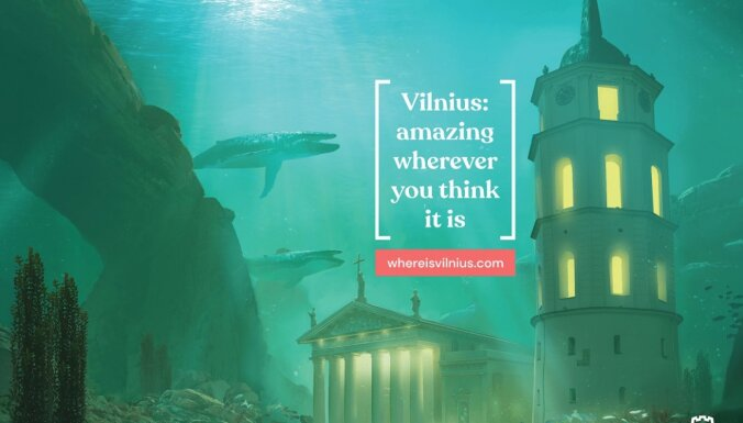 Lieliska, lai arī kur tā būtu: tapis asprātīgs tūrisma video par Viļņu