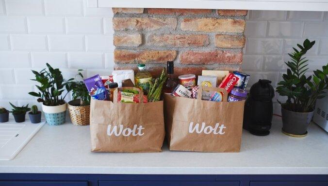 Wolt запустила в Риге экспресс-доставку продуктов питания