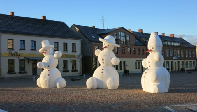 Dobelē atkal pulcēsies dižie sniegavīri