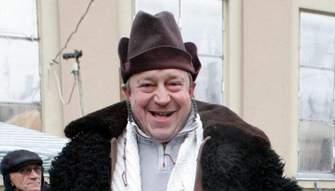 Aktieris Andris Bērziņš